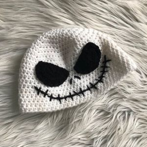 Accessories - Infant Jack Skellington Crochet Hat f1a8f287b2f